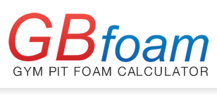 GB Foam - Gym Pit Foam Calculator
